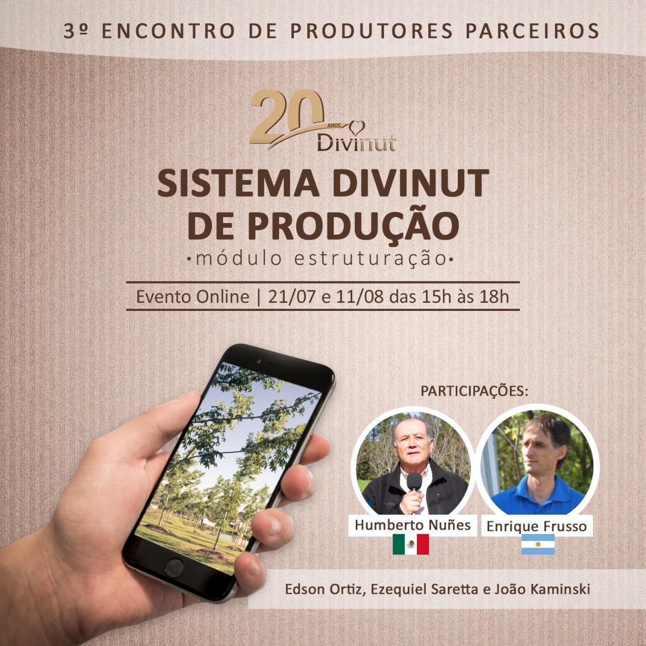 3° ENCONTRO DE PRODUTORES PARCEIROS DIVINUT EM ESTRUTURAÇÃO