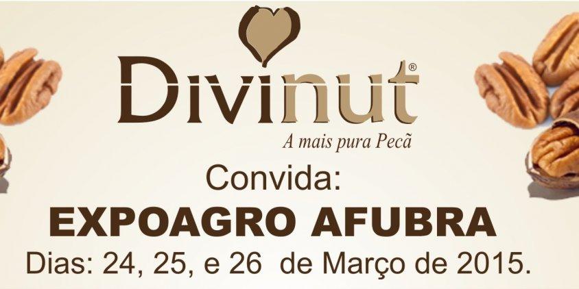 Convite Divinut EXPOAGRO Afubra 2015