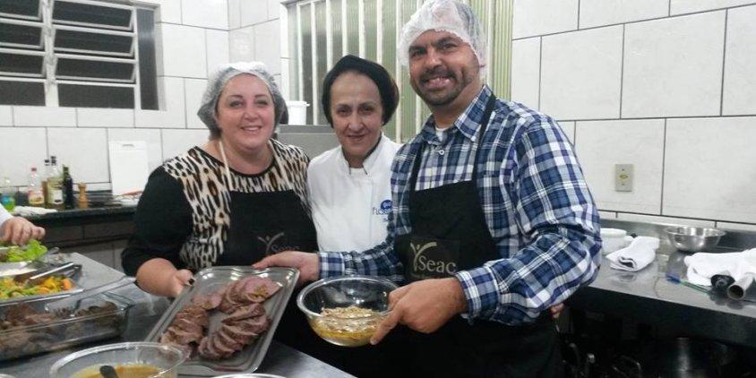 Chef Dodô - Café Florença e SEAC.
