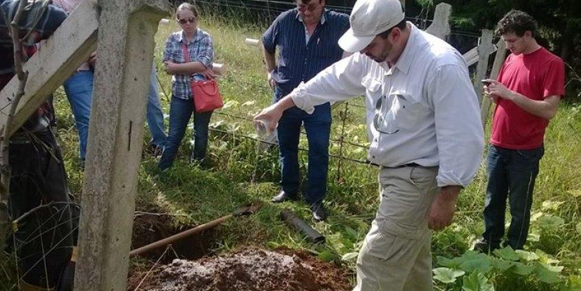 Curso sobre a Produção de Nogueiras-pecã Pelo Sistema Divinut de Produção em Guarapuava-PR