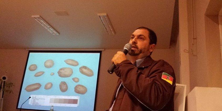Palestra do diretor da Divinut, Edson Ortiz, na Semana Acadêmica da Engenharia Florestal da UFSM