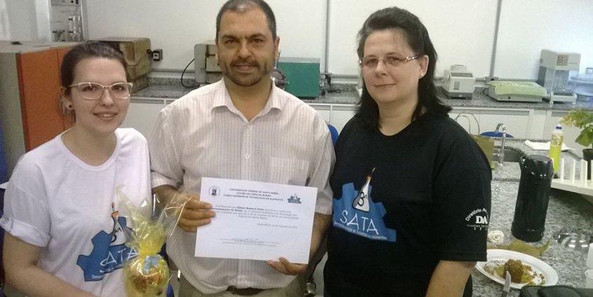 Agradecemos aos organizadores e participantes do Minicurso sobre Processamento de Nozes-pecã, durante a III Semana Acadêmica de Tecnologia em Alimentos da UFSM.