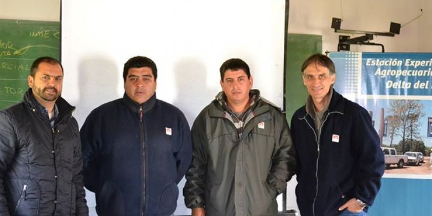 Divinut-Brasil e INTA-Argentina, cooperação tecnológica para o cultivo da nogueira-pecã. Muchas gracias hermanos!